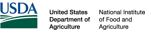Logo: United States Department of Agriculture - National Institute of Food and Agriculture